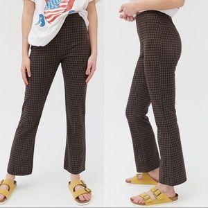 Urban Outfitters Cara kick-flare knit pant